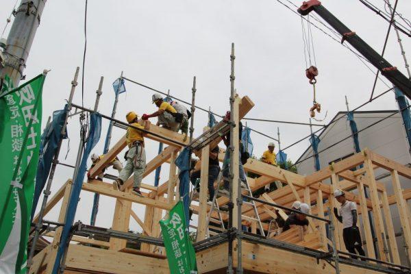 【アイワのこだわりを実例で紹介】家づくりの節目「上棟」②(この「技」がすごい)