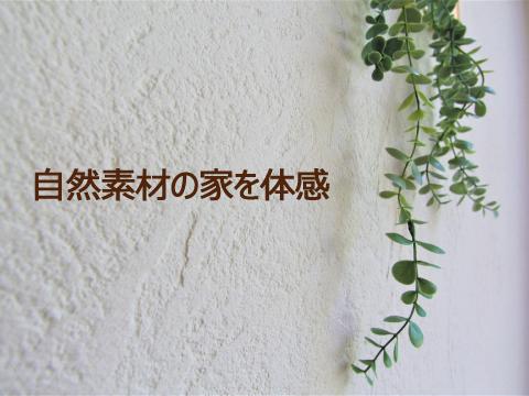 【9月限定】自然素材の家は [体感] するのが一番です。天然木、無垢材、漆喰はこんな感じ!